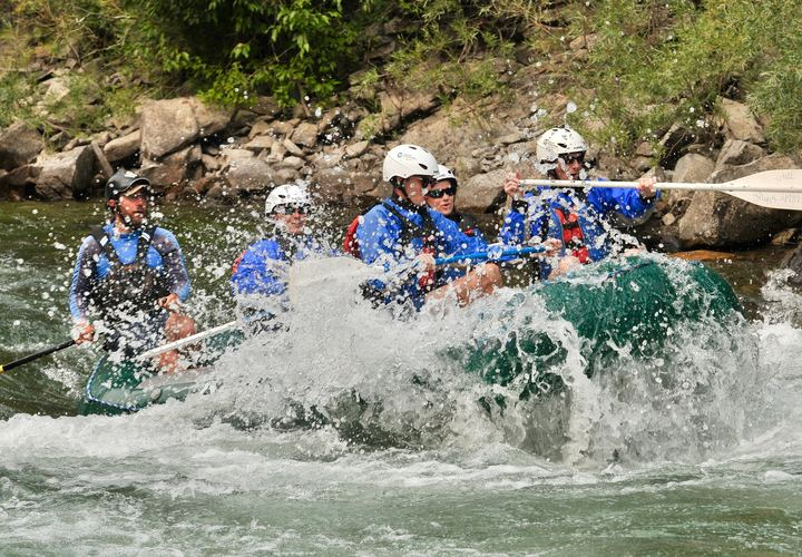 PCP rafting experience